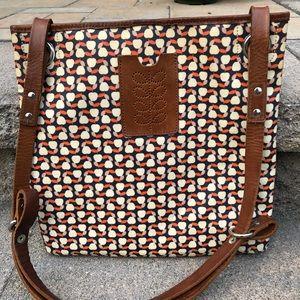 Orla Kiely London Convertible Crossbody Bag